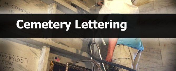 Cemetery Lettering, Sand blasting, patten's michigan monument, hastings, mi